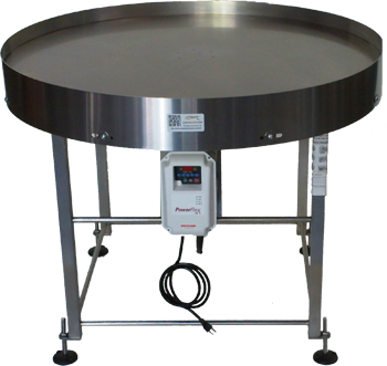 48 inch diameter stainless steel industrial turntable for Motorized turntable heavy duty